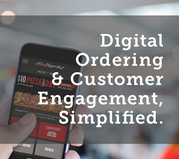 RESTAURANT ONLINE ORDERING AND MOBILE APPS Digital Ordering, Simplified